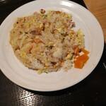酒房 三日月食堂 - 冷麺セット(焼めし)