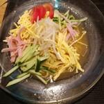 酒房 三日月食堂 - 冷麺セット(冷麺)