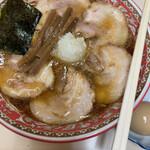 タンタン - バラ大チャーシュー麺+味玉