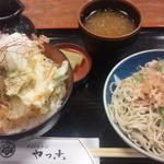 15663073 - 2012年11月 かき揚げ丼定食(おろしそば細麺)