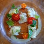 PASTA HOUSE AWkitchen FARM - 鯛の カルパッチョ