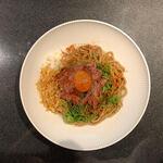 Japanese Soba Noodles 蔦 - NIBOSHI和牛和え麺