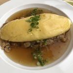 海鮮りん食堂 - 和風オムライス