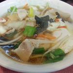 中華食堂 桂苑 - 五目醤油ラーメン