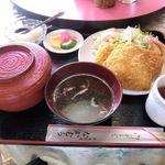 なかむら - 料理写真:ミックスフライ定食
