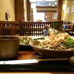 福そば - 焼鯖寿司とおろしそばセット ¥1100