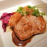 156661756 - 豚肩ロースのステーキ