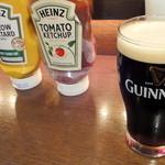 ザ・ビートダイナー - 【再訪2012年11月】まずはギネスドラフト580円で乾杯!