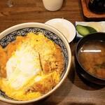 とき和 - 料理写真:カツ丼900円