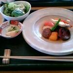 旬菜美酒 庫楽 - 目鯛と旬菜のソテー
