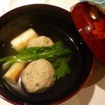 15668706 - <2012年11月>秋刀魚のつみれ汁