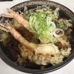 いずみ食堂 - 天ぷらそば1,050円