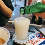いづみや - ドリンク写真:にごり酒 270円