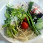 15669391 - 食べ放題のサラダ