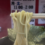 らーめん 谷瀬家 - 酒井製麺の細麺