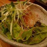 1567792 - 3500円コースの豆腐のじゃこサラダ