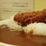 156707499 - ロースカツカレー ご飯・ルー大盛