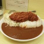 156707504 - ロースカツカレー ご飯・ルー大盛