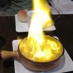 マリベン - ('12/10)小エビのニンニクオイル煮 派手なので、ついつい頼んでしまいます
