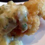 アロッサ 銀座店 - 白身魚のフリット wt 自家製タルタルソース