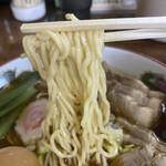 わん楽 - 中細ストレート麺