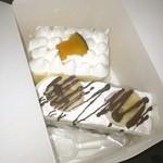 手作りケーキのお店 パスタン - バナナロールとかぼちゃのケーキ