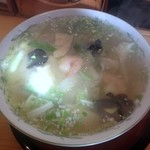 麺処 みどり亭 - えびあんかけラーメン850円