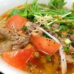 ニャーベトナム - 牛肉とトマトのフォー