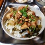 アンゴン - 煮豚ご飯