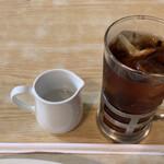 ロージナ茶房 - 【軽食セット】アイスティー
