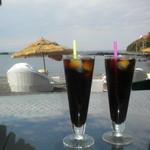 カメハメハ大王の渚 - アイスコーヒー