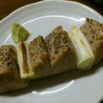 炭火焼鳥 たまどん - 炙り鮪串