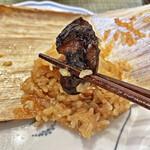 シウマイのタチバナ - 椎茸も入っています