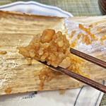シウマイのタチバナ - ウズラの卵や豆も入っています