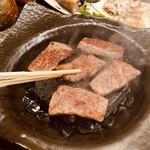 きく蔵 - 信州牛石焼き