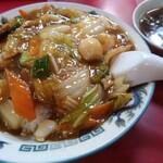 中華 萬來軒 - 中華丼¥780