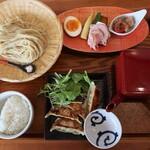 Nichishikimenhanhanaotoshouten - 糸つけめん 極味ぎょうざセット