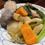 喜多八  - 料理写真:島野菜と塩豚