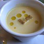 オステリア ジョイア - カボチャの冷たいスープ
