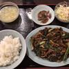 順香 - 料理写真:D 黒椒牛柳炒蘑菇(牛肉と3種類のきのこの黒胡椒炒め)(900円)