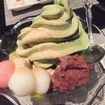 酒肴 BAR 花ござ - 抹茶パフェ