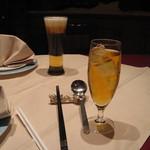 Chuugokuryourihakuhou - new クーポンでビールとジャスミン茶