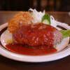 レストラン コニシ - 料理写真:ハンバーグ&カニクリームコロッケ