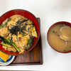 みなと食堂 - 料理写真:焼き穴子どんぶり+あさり汁
