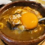 ビストロオーズ - 生卵が隠れている!
