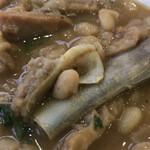 レストランブラジル - ドブラジャーニャは豚足が入ってます       まみこまみこ
