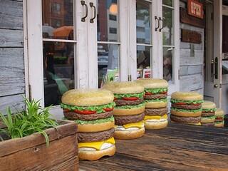 ファイヤーハウス - ハンバーガーのイス