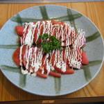 るぱん - 冷やしトマトのバルサミコソース お口直しに 390円