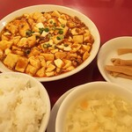 yokohamachuukagaichuugokushanhairyourishigorokusaikan - 麻婆豆腐ランチ