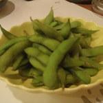 Jougaiichibashokudou - 枝豆